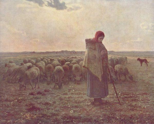 「羊飼いの少女」の画像検索結果